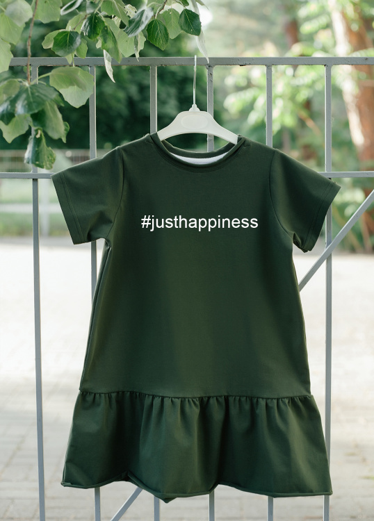 "Платье оверсайз ""Just happiness"""